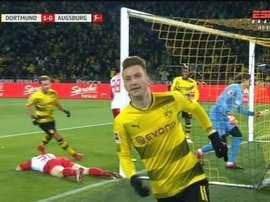 Reus a renoué avec le but. Capture/ESPN