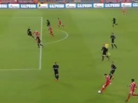 Tolisso fez o 2-0 para o Bayern frente ao PSG. beINSports