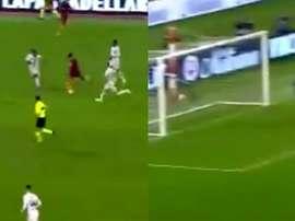 Ünder anotó un golazo al Inter. Captura