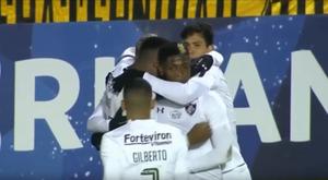 Victoria de Fluminense. Captura/Libertadores