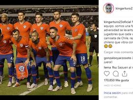Vidal y Medel lanzaron el mismo mensaje sobre su Selección. Vidal