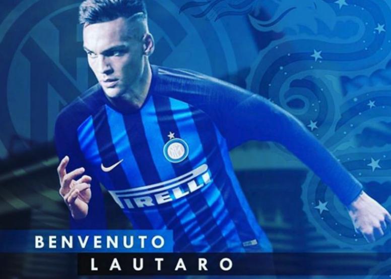 Lautaro es, de momento, el nombre más importante del mercado argentino. Captura/Icardi