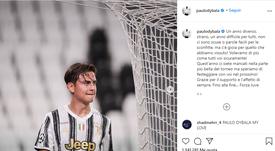 Dybala mandó un mensaje tras la eliminación. Instagram/paulodybala