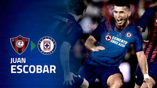 Juan Escobar, primer refuerzo de Cruz Azul para el Apertura. CruzAzul