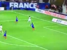 La Selección Francesa no pasó del empate ante Luxemburgo. Twitter