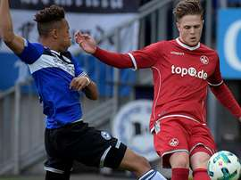 Kaiserslautern en troisième division. Kaiserslautern