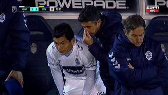 El 'Pulga' Rodríguez debutó con Gimnasia. Captura/ESPN