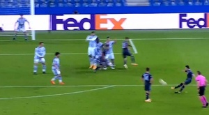 Napoli had a goal ruled out. Screenshot