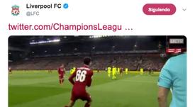 O inesquecível escanteio do Liverpool. LFC