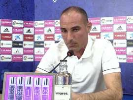 Iván Martínez habló en la previa. Captura/RealZaragoza