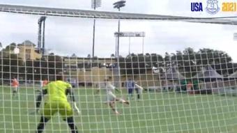 James se enchufa con golazos antes de enfrentarse a Millonarios. Twitter/Everton