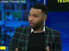 Echan a Pennant de 'Sky Sports' y lo acusan de borracho. Captura/SkySports