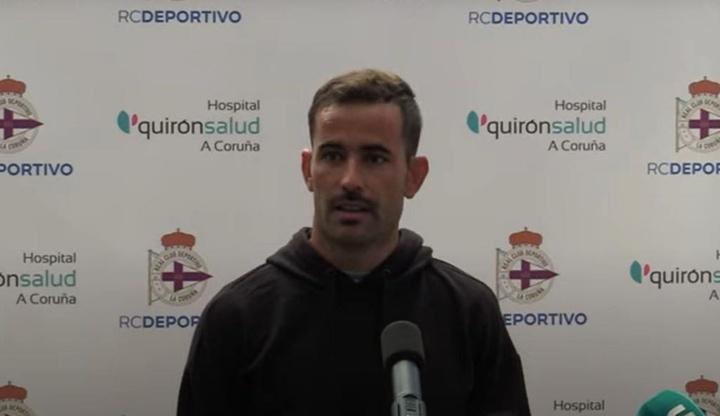 Menudo no podrá estar ante el Tudelano este domingo. YouTube/RCDeportivo