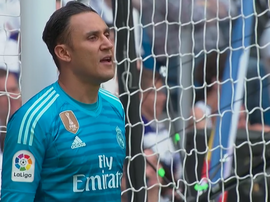 Keylor Navas ne devrait pas quitter le Real Madrid. Capture/beINSports