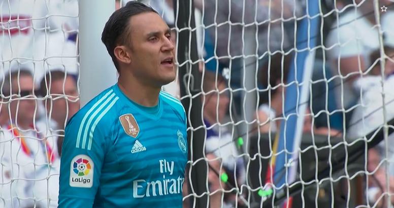 O Bernabéu homenageou Keylor Navas que pode dizer adeus ao Real Madrid. Captura/beINSports