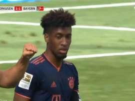 Coman ha segnato il goal del pareggio. MovistarLigadeCampeones