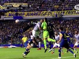 La CONMEBOL rechazó la apelación de Boca. Captura/FOXSports