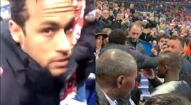 Torcedor agredido por Neymar fala sobre o caso. Twitter/vaillant92100