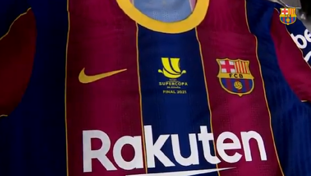 The Top Barca Will Wear For The Super Cup Final Besoccer