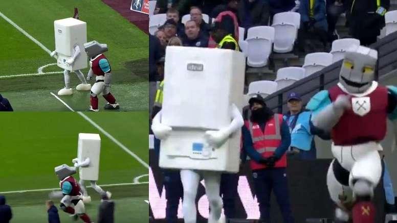 ¿Por qué la FA Cup es única? Si alguna vez has visto una carrera entre mascotas... Twitter/FACup