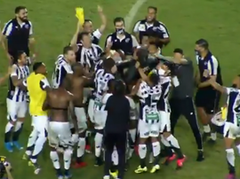 Ceará no encuentra rival en Bahía y levanta la Copa do Nordeste. Twitter/CopadoNordeste