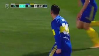 Pavón volvió a marcar en partido oficial con Boca... ¡849 días después!