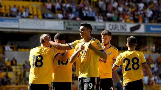 Wolves beat Southampton 0-2. Twitter/Wolves
