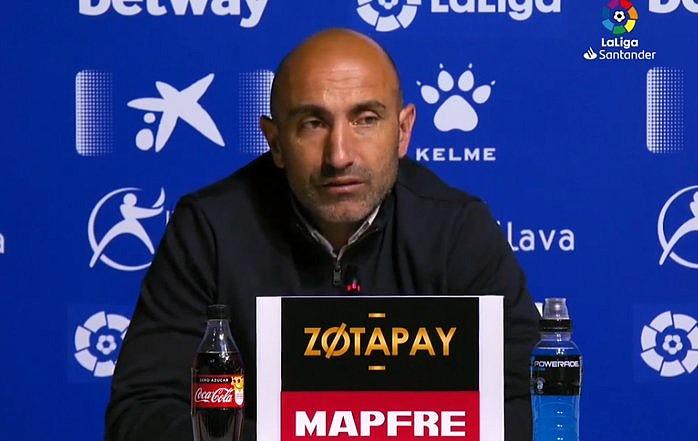 Abelardo habló sobre su posible salida. Captura/LaLiga