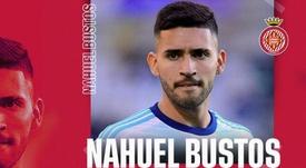 Lío con Nahuel Bustos, Talleres y la Liga Cordobesa de Fútbol.  Captura/GironaFC