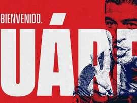 Suárez superó el reconocimiento, firmó y el Atleti ya presume de fichaje. AtléticodeMadrid