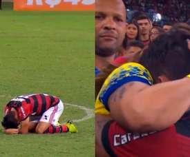 Paquetá se despidió de la afición de Flamengo. Captura/Globoesporte