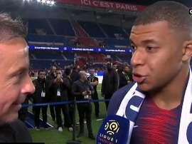 Mbappé garantiu que não tem pressa que chegue a nova temporada. Captura/Canal+