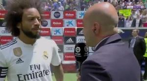 Marcelo a analisé la saison. Capture/beINSports