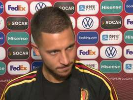 Hazard denies he has had tough times at Real Madrid. Captura/DHNET