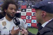 Marcelo ha commentato la vittoria. Captura/beINSports