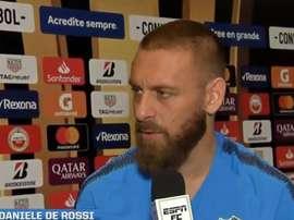De Rossi habló de Riquelme y elogió a Iniesta. Captura/ESPN