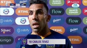 Carlos Tévez s'est exprimé sur son temps de jeu à Boca Juniors. . Captura/FOXSports