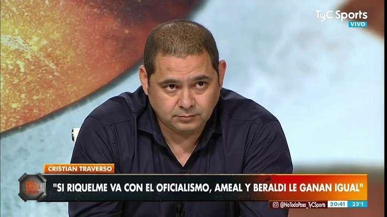 Traverso criticó los últimos fichajes de Boca. EFE/Archivo