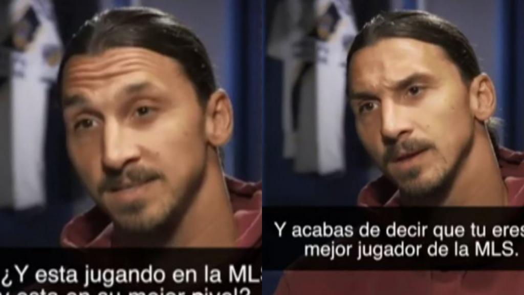Habló Zlatan sobre Carlos V