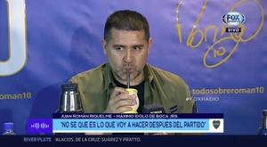 Riquelme habló sobre su despedida y de la Libertadores. Captura/FOXSports