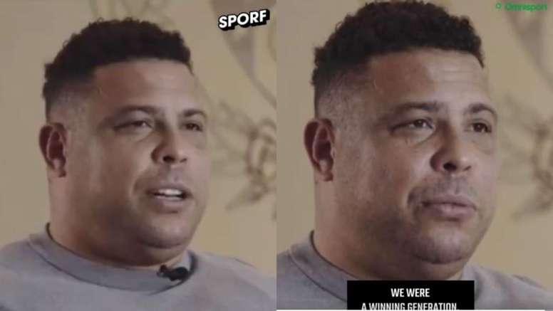 O motivo de Ronaldo ter ido ao Real Madrid. Twitter/Sporf