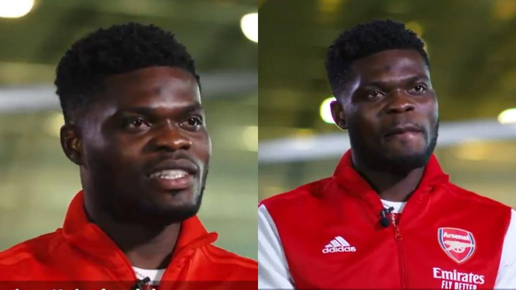 Ghana superstar Thomas Partey unveiled by English giants Arsenal