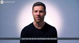 Xabi Alonso recordó cómo vivió el camino a la 'Décima'. Twitter/CoachesVoice_es