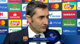 Valverde reconhece dificuldade do Barcelona fora de casa. Captura/Movistar+