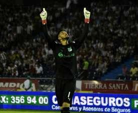 Camilo Vargas se encuentra cedido en Deportivo Cali. Twitter/DeportivoCali