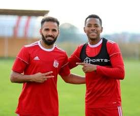 Tous les deux dans la même équipe. Twitter/SivassporKulubu