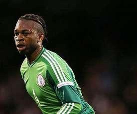 El centrocampista nigeriano suena con fuerza para el Celta. Captura/TVGalicia