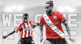 El Southampton anuncia la vuelta de Walcott 15 años después. Twitter/SouthamptonFC