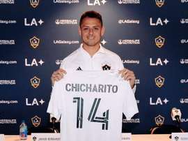 Chicharito pense déjà comme un capitaine à Los Angeles. LA Galaxy