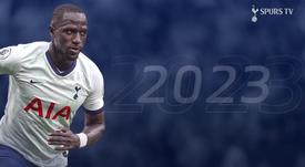 El Tottenham amplía el contrato de Sissoko hasta 2023. Captura/SpursTV
